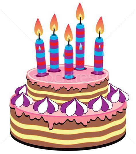 birthday cake vector illustration  dmitry merkushin freesoulproduction  stockfresh