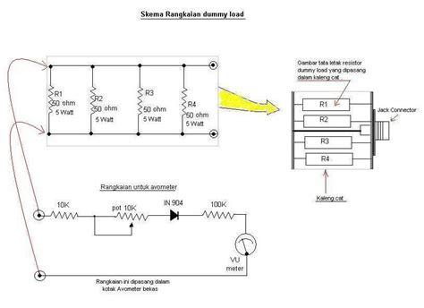 cara membuat antena tv remote rahmat tehnik cara membuat dummy load meter