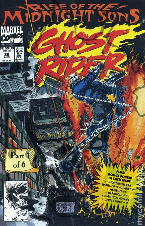 ghost rides books ghost rider 1990 2nd series comic books