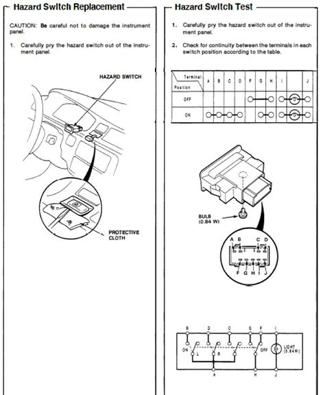 89 honda turn signal wiring diagram 35 wiring diagram