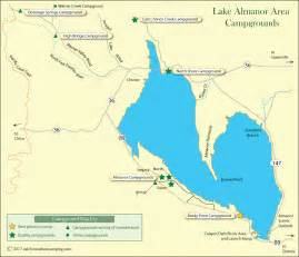 lake almanor area cground map california s best cing