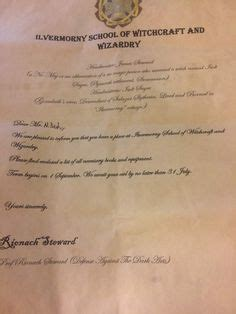 Acceptance Letter Mix Up Ravenclaw And Dates On