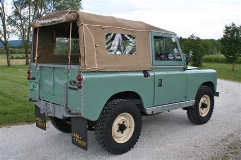 restored 1960 land rover series ii bring a trailer
