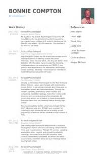 Psychology Resume Exles by School Psychologist Resume Sles Visualcv Resume