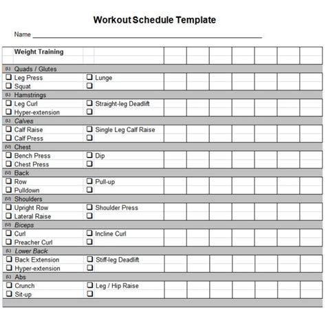 daily work planner template daily workout planner template calendar 2018