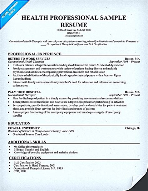Phlebotomist Resume Sample – Clinical Laboratory Technician Free Sample Resume Resume