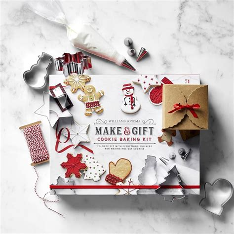 make it bake it kits make and gift cookie baking kit williams sonoma