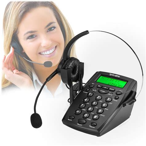 headphones for desk phone voicejoy headset telephone desk phone headphones headset