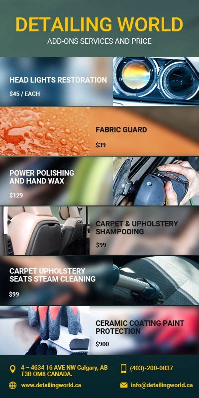 Car Detailing Types by Best 25 Mobile Car Wash Ideas Only On Car