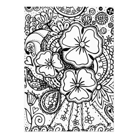 flower doodle coloring pages flower abstract doodle zentangle paisley coloring pages