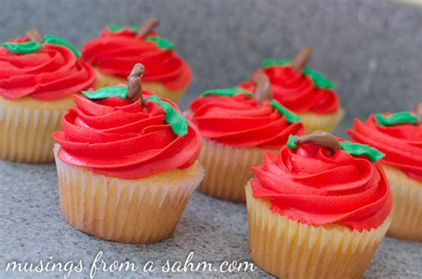 Back to School Cupcakes Recipe   Living Well Mom