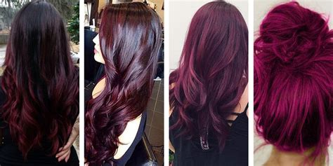 maroon hair color top 20 transformations with maroon hair color hairstyles