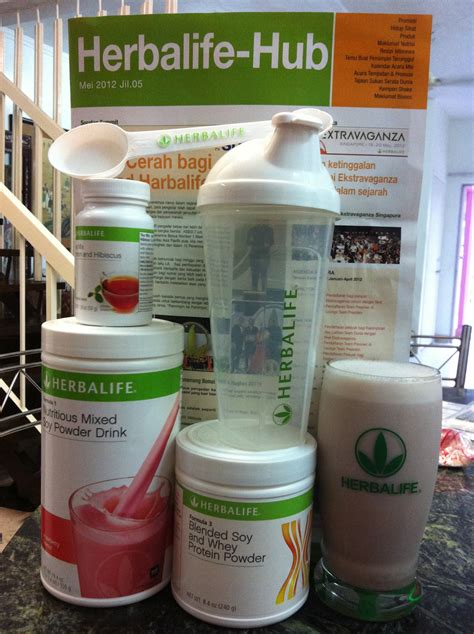 Teh Mix Herbalife me and herbalife cara pemakanan herbalife