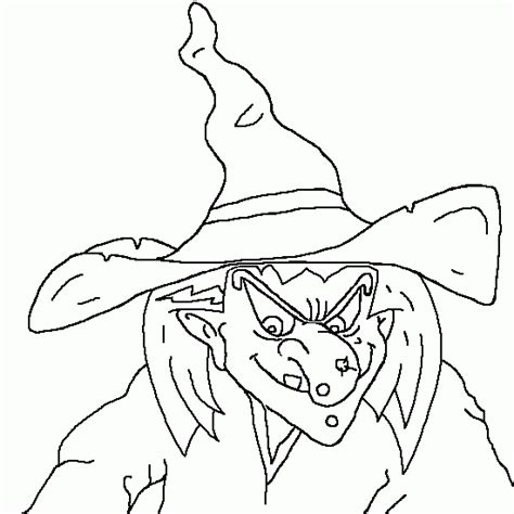 free coloring pages of the witch of the west