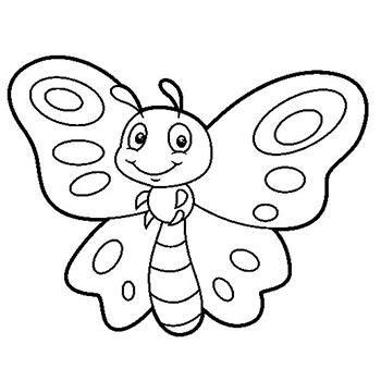 imagenes de mariposas infantiles para imprimir dibujos de mariposas para colorear