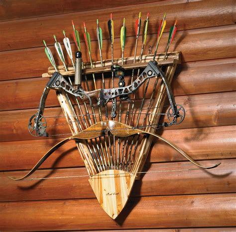 bow  arrow rack     hits  target