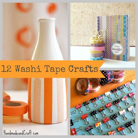 crafts presents 12 washi crafts diy gifts