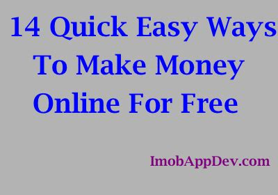 Easy Ways To Make Money Online Fast - let s make money online together imobappdev com