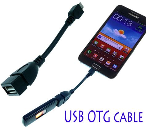Kabel Otg Samsung Note 3 Galaxy S5 kabel otg usb host pro samsung galaxy s6 s5 s4 s3 s2 note