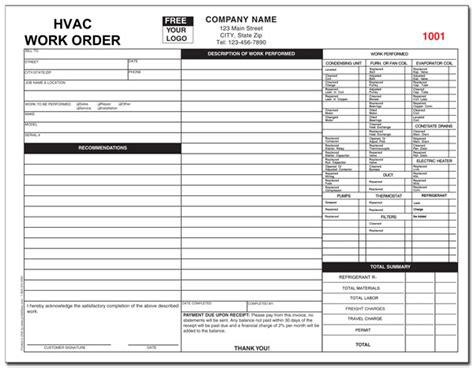 hvac service invoices hardhost info