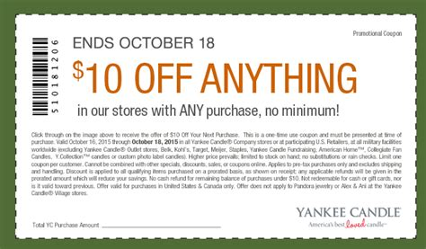 new yankee candle printable coupons yankee candle promo code 2015 images tattoo design bild