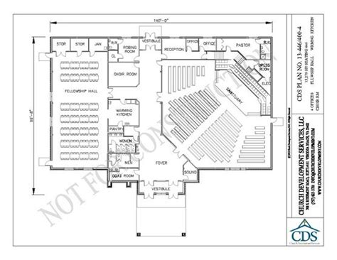 Church Fellowship Hall Floor Plans 1000 Images About Church Building Plans On Pinterest