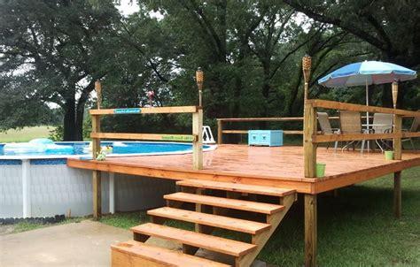 Pool Deck Plans 24 foot above ground pool deck plans http lanewstalk
