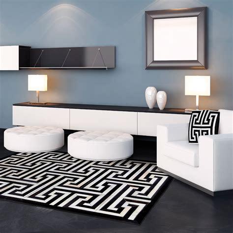 black key rug cow hide rug black key 5 l x 8 h madisons inc rugs touch of modern