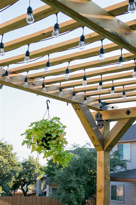 building a pergola on a patio how to build a diy pergola with strong tie outdoor