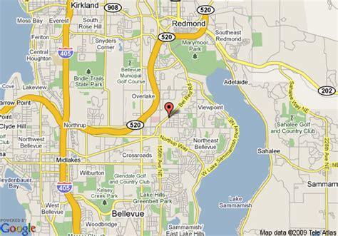 seattle map redmond homestead seattle redmond bellevue deals see hotel