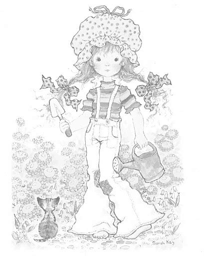 free sarah kay coloring pages