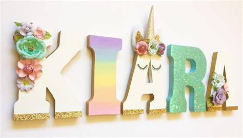 unicorn bedroom theme unicorn themed letters home decor party decorations