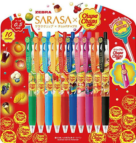 Chupa Chups The Fragrance by Chupa Chups Scented Gel Pen Set White Rabbit Express