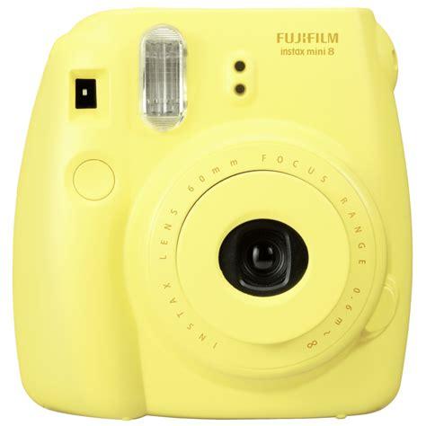 yellow polaroid fujifilm instax mini 8 yellow