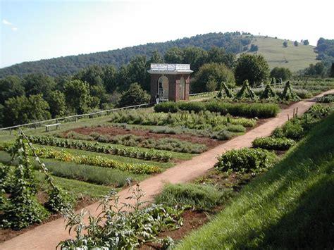 thomas jefferson s vegetable garden gardening tips pinterest