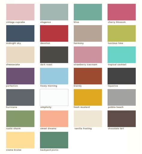 paint colour country chic paint colors color