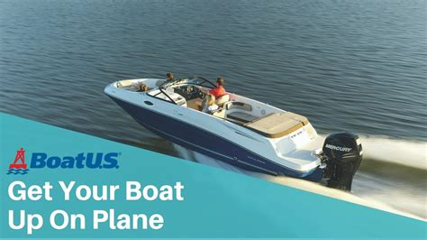 boat engine trim how to get your boat on plane using engine trim boatus