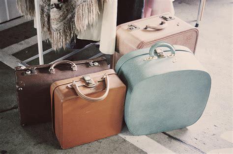 Ransel Fashion Set 4 In 1 Flowwers No Boneka baggage bags blue photography travel vintage image