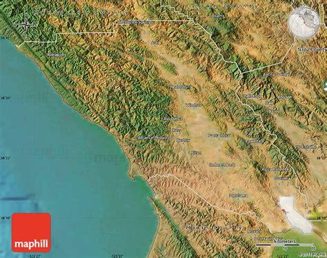 satellite map of california satellite map of sonoma county