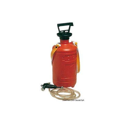 doccia portatile doccia portatile a pressione 8 l 52 187 00