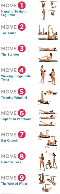 images   abs workout  pinterest