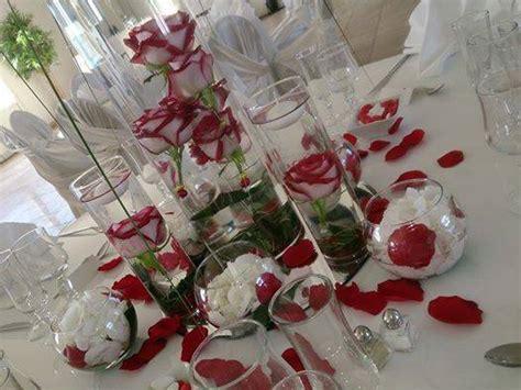Decoration Table Mariage Rouge Et Blanc