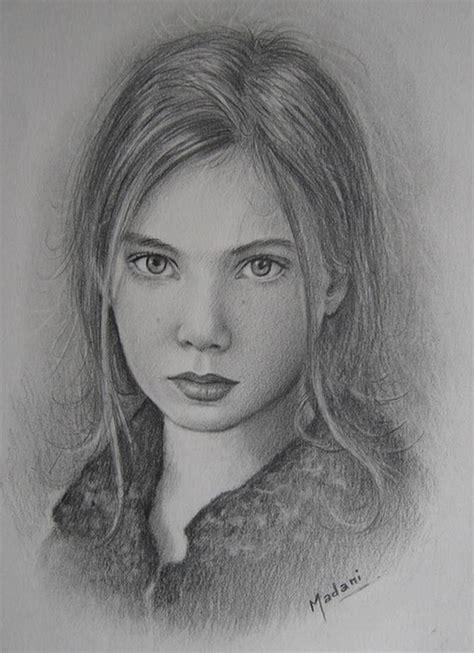 imagenes de retratos a lapiz retrato lapiz miloud madani artelista com
