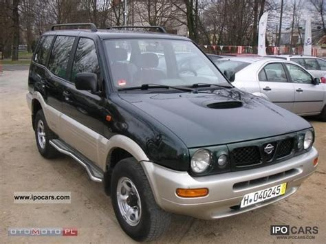 nissan terrano 1996 1996 nissan terrano car photo and specs