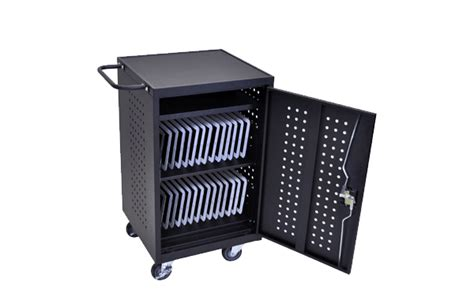 12 tablet chromebook computer charging cart from 433 00 luxor lltm30 b 30 tablet chromebook computer charging