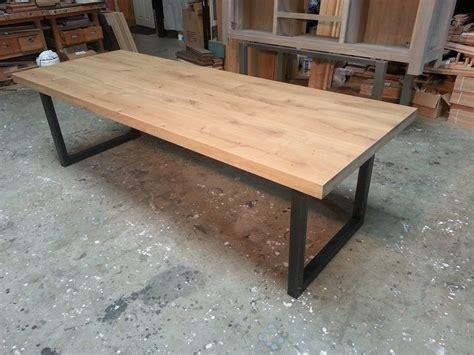 restaurant tafels kopen eiken tafels staal 9 eetkamer pinterest staal