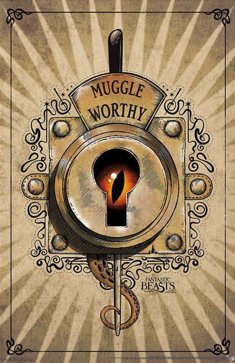 where to find fantastic beasts and where to find them muggle worthy poster