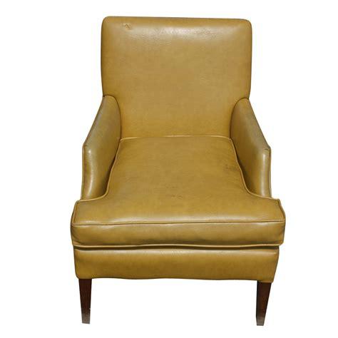 Yellow Modern Armchair Midcentury Retro Style Modern Architectural Vintage