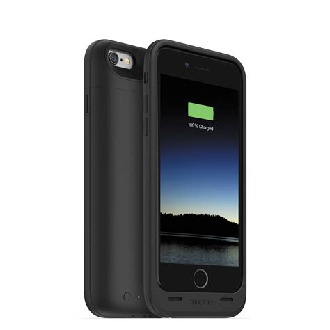 h iphone 6 mophie juice pack air for iphone 6 6s black 3043 b h photo