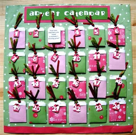 how to make a advent calendar easy peasy tag pocket make an advent calendar